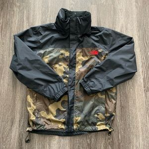 Urban Outfitters x North Face Camo Resolve Jacket